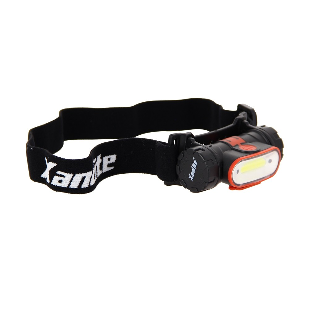 Torche frontale LED - 350 lumens - rechargeable