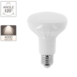 LED spotlight bulb R80 - E27 base - classic