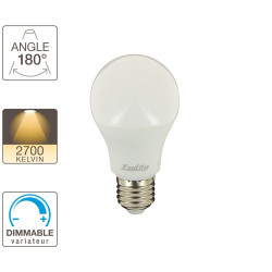 A60 light bulb - E27 base - dimmable