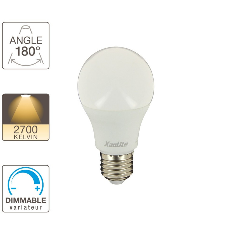 ee1055gd ampoule led a60 1055 lumens culot e27 blanc chaud dimmable. Black Bedroom Furniture Sets. Home Design Ideas