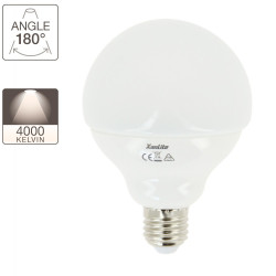 Globe LED light bulb G95 - E27 base - classic