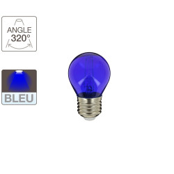 P45 LED light bulb - E27 base - blue light