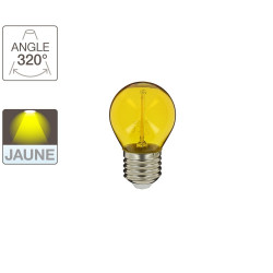P45 LED light bulb - E27 base - yellow light