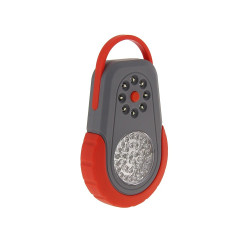 Mini baladeuse LED grise et rouge