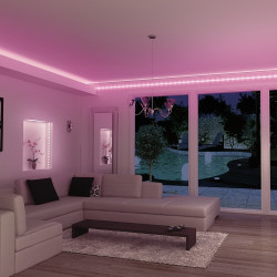 LED Strip Light Kit 1.5 m pink
