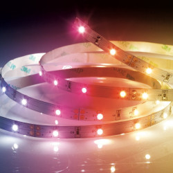 RGB LED ribbon (complete kit) - 3m - multicolor
