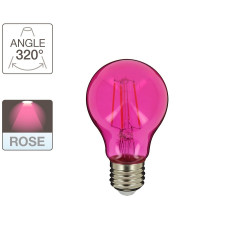 Ampoule A60 - culot E27 - retro-LED