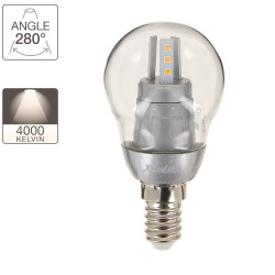 LED light bulb P45 - E14 base - retrofit