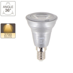 LED spotlight bulb - E14 base - classic