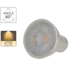 Spotlight bulb - GU10 base - crystal-LED