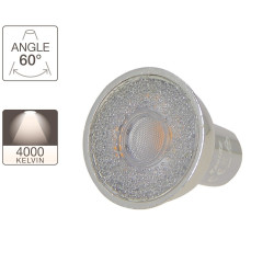 LED spotlight bulb - GU10 base - crystal-LED