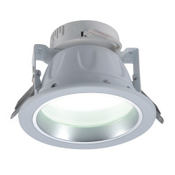 Round LED downlight - 500 lumens