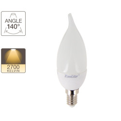 Flickering flame light bulb - E14 base