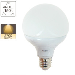 LED globe light bulb G95 - E27 base - Dimmable