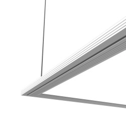 Square ceiling light - 960 lumens - Ultra flat