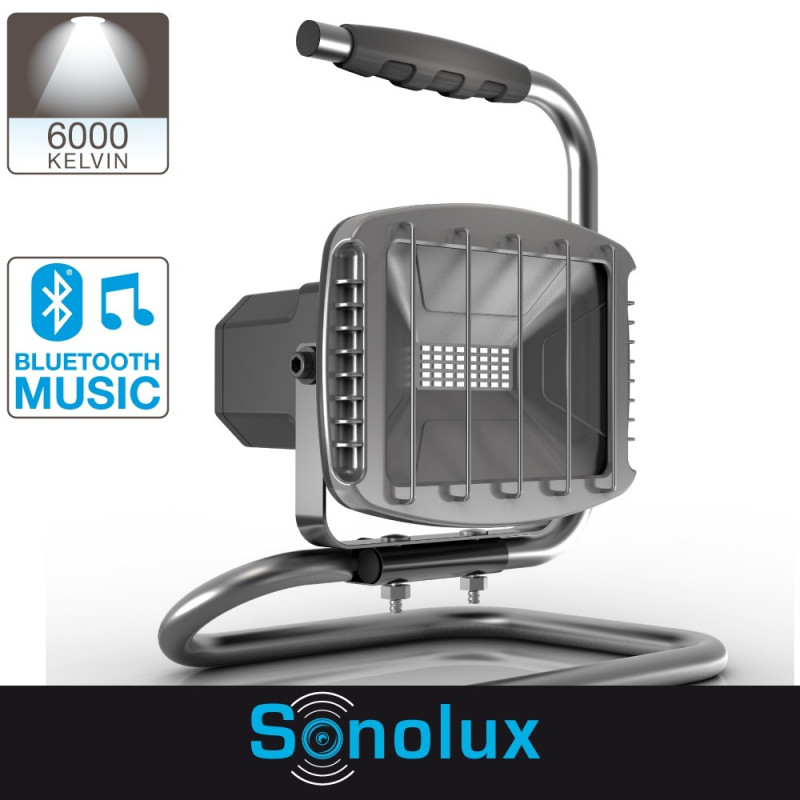 pr1200spf projecteur led 1200 lumens haut parleur sonolux. Black Bedroom Furniture Sets. Home Design Ideas