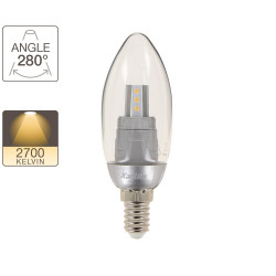 Flame bulb - E14 base - retrofit
