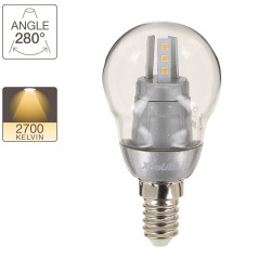 P45 LED light bulb - E14 base - retrofit