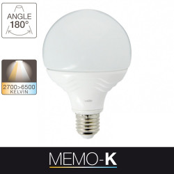 LED light bulb memo-k - E27 base - light temperature control