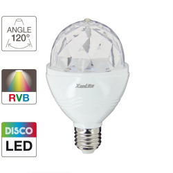 Rotating Disco-Led bulb
