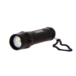 Metallic LED torch - 600 lumens - ultra resistant