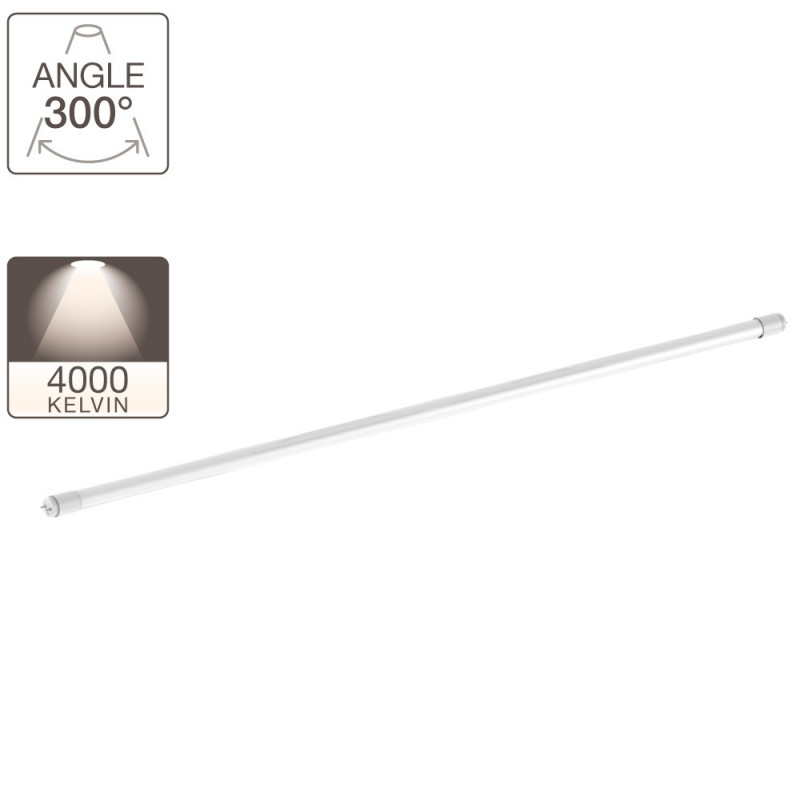 Tube à LED - culot G13 - 1213 mm de long