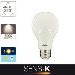 LED SENS-K light bulb - E27 base - brightness sensor