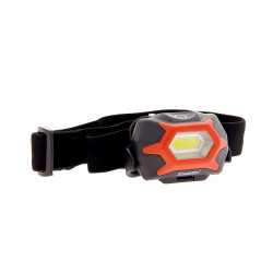 LED head torch - 130 lumens - 3 batteries included