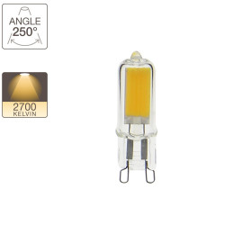 LED capsule light bulb - G9 base - classic