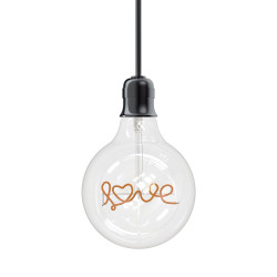 Ampoule LED G95  - culot E27 - Love