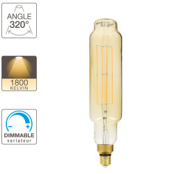 T7S LED light bulb - E27 base - vintage giant filament