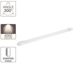 Tube à LED - cuLot G13 - 604 mm de long