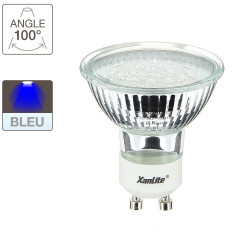 LED spot bulbs, G10 base, 1,4W cons. blue light