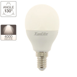 P45 LED bulb, E14 base, 7W cons. (60W eq.), neutral white light