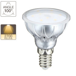 LED spot bulb, E14 base, 2,8W cons. ( 20W eq.), warm white light