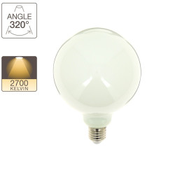 G125 LED filament bulb, E27 base, 11.8W cons. (100W eq.), warm white light