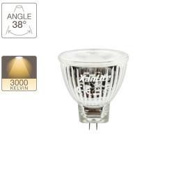 LED spotlight bulb, G4 base, 4W cons. (20W eq.), warm white light
