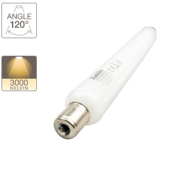 LED tube light S15, 3W.cons (28W.eq), warm white light