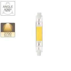 Linear bulbs 600 lumens R7S - slim warm white