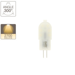 LED capsule light bulb - G4 base - classic