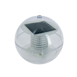 Solar LED ball, 2 RGB LEDs, multi-color light, 8h autonomy and IP45