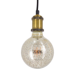 Ampoule LED G95 - culot E27 - vintage antique