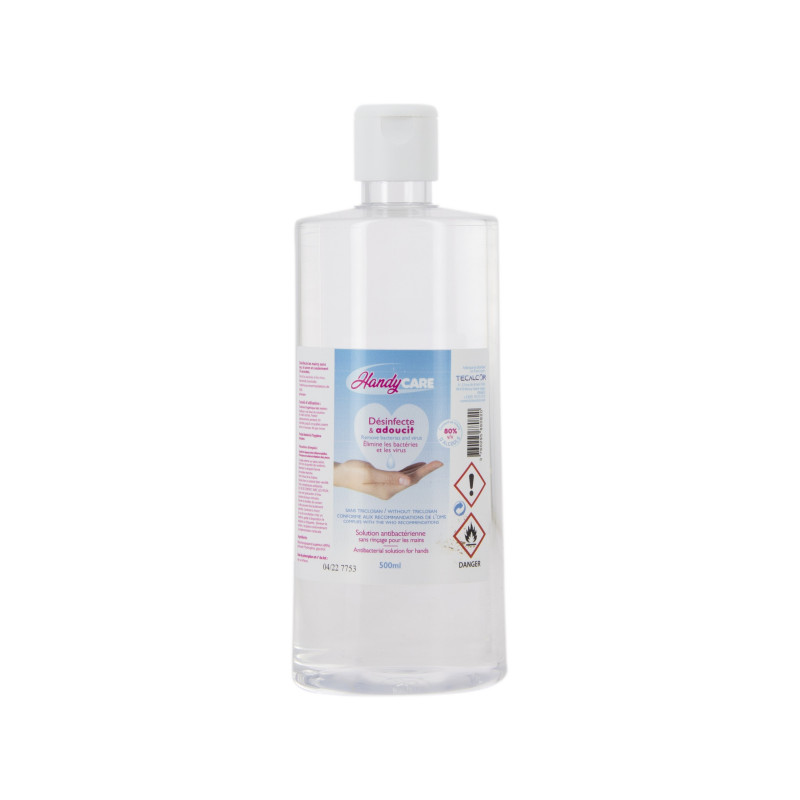 Solution hydroalcoolique HandyCare - 500 ml