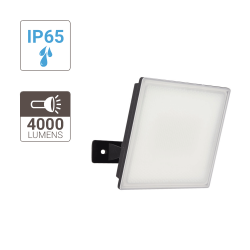 Wall mounted floodlight - 3500 lumens - super slim