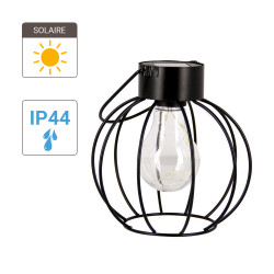 Atria solar powered lantern - firefly effect