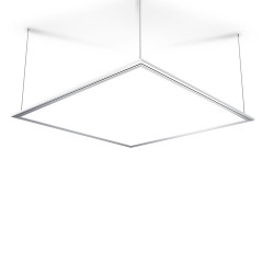 Square LED panel - with 3 attachment options