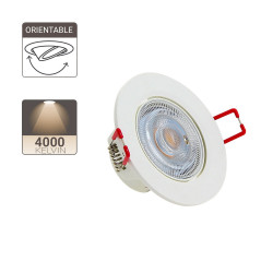 Integrated LED spotlight - 345 lumens - neutral white